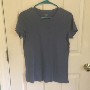 NEW WITH TAG- Gap women's blue tee